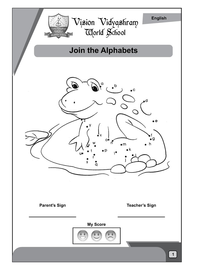 Free activity sheets for ukg