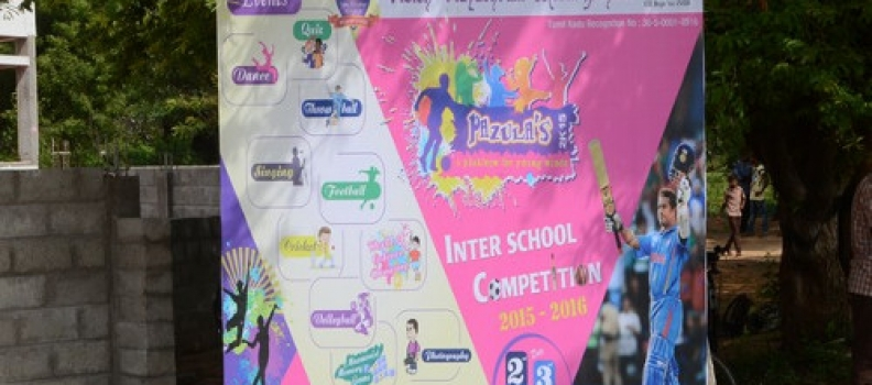 PAZULA'S 2K15 – INTER SCHOOL COMPETITION (02.09.2015)